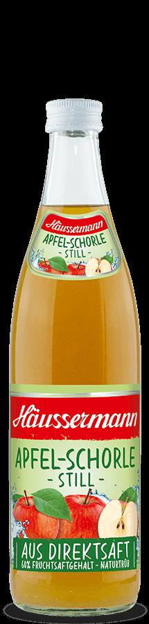 Apfel-Schorle still