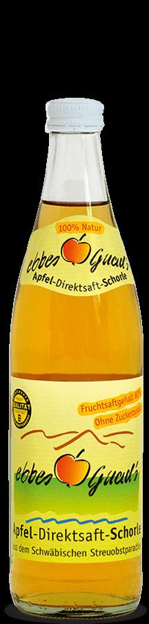 ebbes Guad´s Apfel-Direktsaft-Schorle