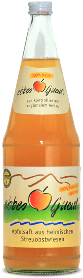 ebbes Guad´s Apfelsaft (naturtrüb)