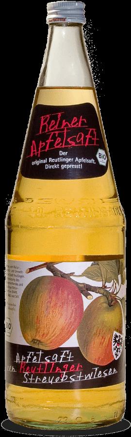 Bio-Apfelsaft von Reutlinger Streuobstwiesen (klar)