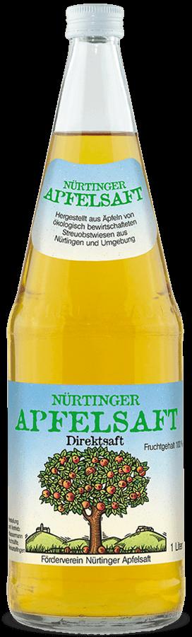 Nürtinger Apfelsaft (klar)