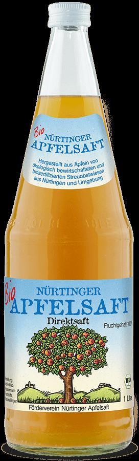 Nürtinger Apfelsaft (naturtrüb)